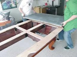 Pool table moves in Bellingham Washington