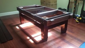 Correctly performing pool table installations, Bellingham Washington